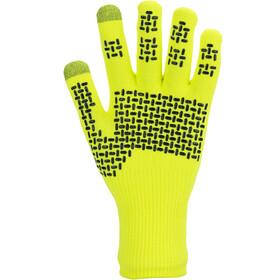 Sealskinz Waterproof All Weather Ultra Grip Guantes de punto, neon yellow